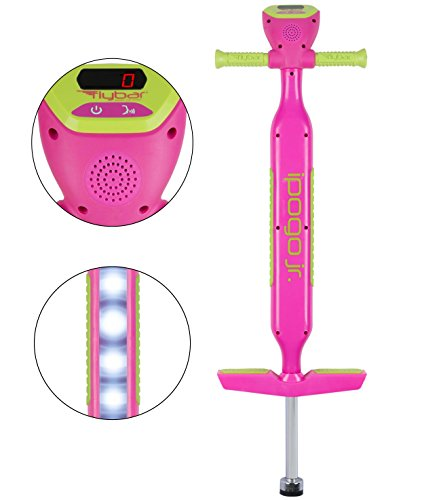 Flybar iPogo Jr. - Worlds First Interactive Counting Pogo Stick for Kids Ages 5 to 9 (Pink) by Flybar (Image #9)