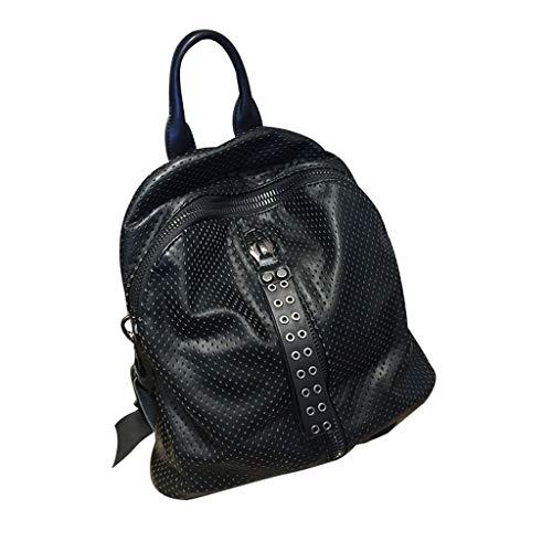 C Soft Casual Student Shoulder Knapsack amp;s Schoolbag Outdoor Leather Bag Handbag Shopping Single BqBOrwA