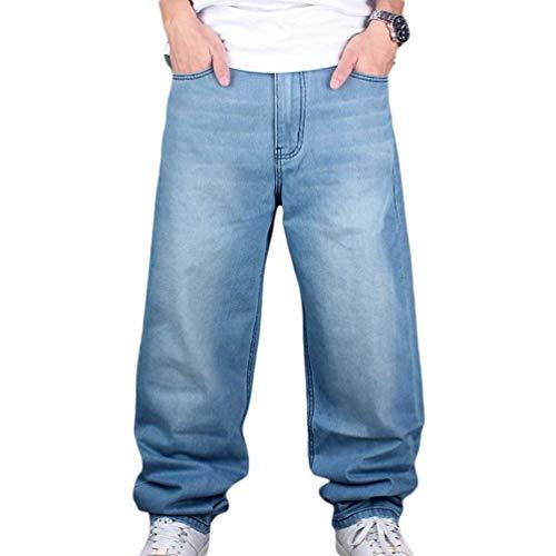 La Verano del Ocasionales De De del Dril Sólido Pantalones Algodón Flojos Vaqueros del De Sólido Algodón Dril Slim Pantalones Calle Color Fit Hellblau del Urbana Vaqueros Hombres Vaqueros Vaqueros Pantalones wwgqRT0F