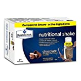 Member's Mark Nutritional Shake, Chocolate (8 fl. oz., 24 ct.) (pack of 6)