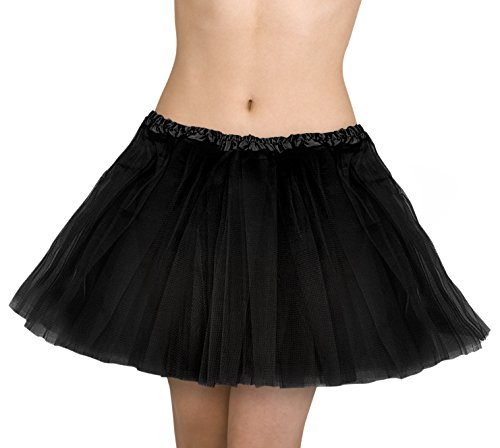 Petticoat Dress (Kangaroo's Deluxe Tutu, Choice of Colors: (Black))