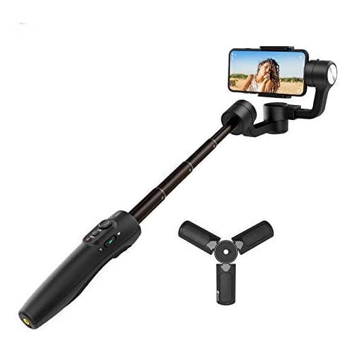 chollos oferta descuentos barato FeiyuTech Vimble 2S Estabilizador de cardán para teléfono móvil Extensible 3 Ejes para iPhone 6 7 8 Plus X XS XR 11 11 Pro 11 MAX Samsung S20 S10 9 8 7 Edge Huawei