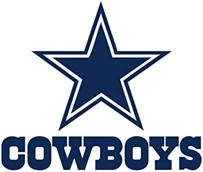 pillowfigtart full color dallas cowboys decal, full color dallas cowboys  sticker, full color dallas cowboys wall decal, dallas cowboys logo decal,  nfl logo decal, dallas cowboys pf33 22