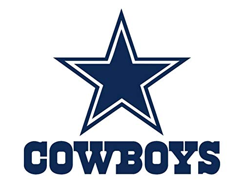 PillowFigtArt Full Color Dallas Cowboys Decal, Full Color Dallas Cowboys Sticker, Full Color Dallas Cowboys Wall Decal,Dallas Cowboys Logo Decal, NFL Logo Decal, Dallas Cowboys pf33 (22