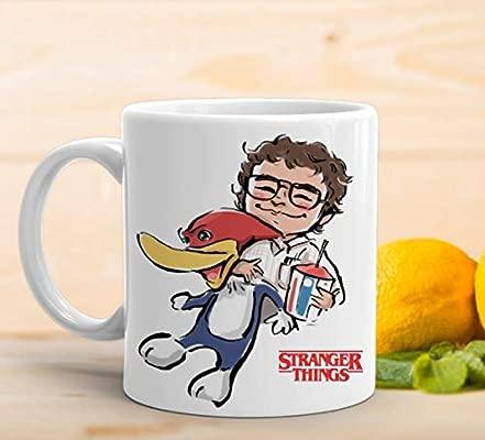 adaysusdetalles Taza Stranger Things,Taza Ceramica Desayuno ...
