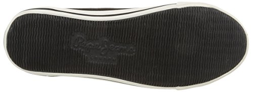Pepe Jeans London Britt Classic, Herren Sneakers Schwarz (999black)