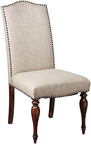 Furniture At Home 223 MAXWELL Collection Side Chair, (Curio Server)