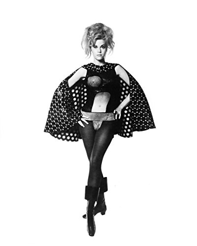 Barbarella Costume - Jane Fonda Barbarella Sexy Costume Full Length Pose 16X20 Canvas Giclee