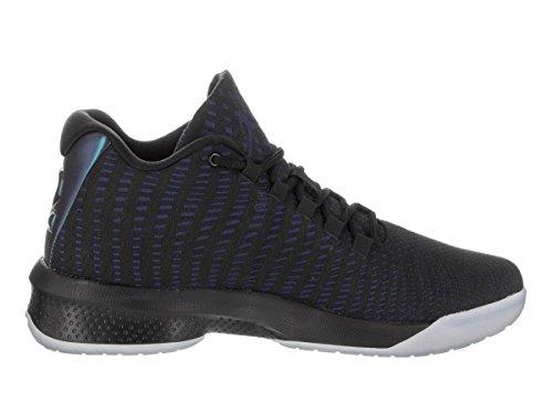 ... Jordan Hommes B. Chaussure De Basket-ball Mouche Noir / Concord / Blanc