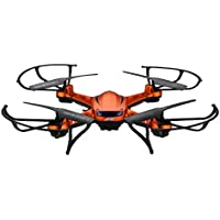 JJRC H12W-A RC Quadcopter Drone With 2.0MP HD Camera WIFI FPV 2.4G 4CH 6-Axis Gyro, Orange