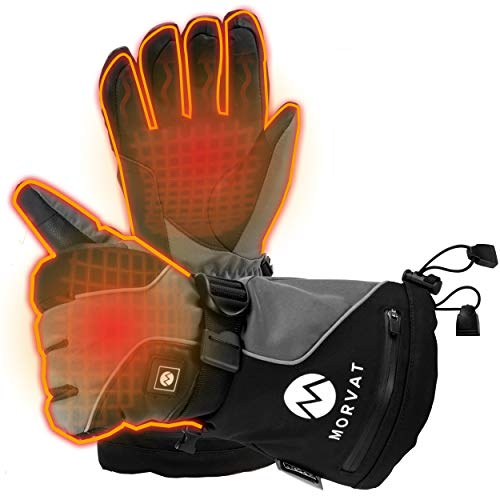 ladies heated gloves - 9