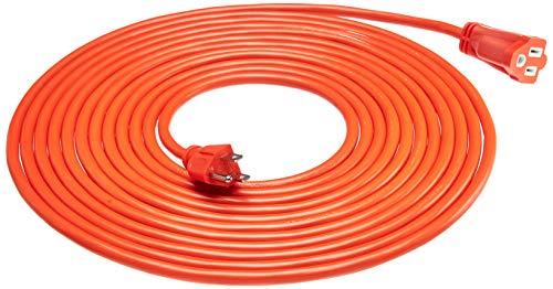 - AmazonBasics 16/3 Vinyl Outdoor Extension Cord | Orange, 25-Foot