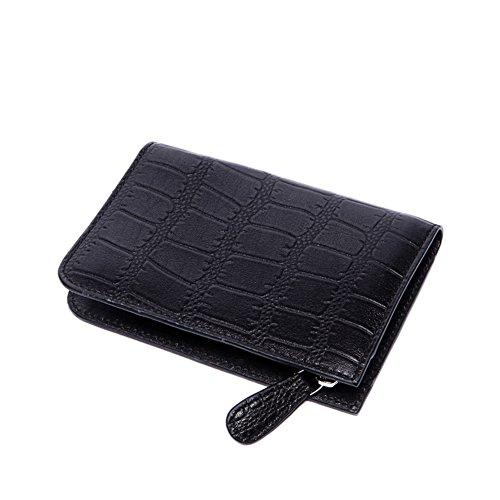 De los hombres grandes clave caja de cuero/primera capa cuero multifunción bolso de la cintura/llave tecla de cadena-A A