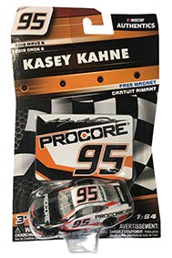 NASCAR Authentics 2018 Wave 6 Kasey Kahne #95 Procore Chevy Last Ride 1/64th Scale Diecast with Bonus Magnet Collector Card