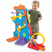 Parque de atracciones Fisher-Price Wheelies Loops 'n Swoops