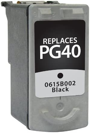 SuppliesMAX Compatible Replacement for CIG116260 Black Inkjet Equivalent to Canon PG-30//PG-40//0615B002 329 Page Yield