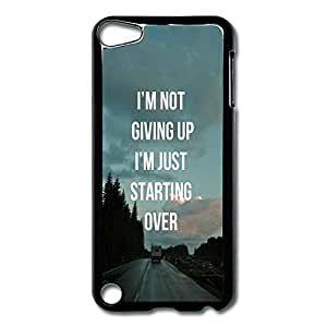IPod Touch 5 Cases Start Over Design Hard Back Cover Proctector Desgined By RRG2G