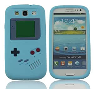LETOiNG-93YXJ01 Gameboy Classic Retro Smooth Silicone Soft Rubber Gel Case Cover Skin-Light Blue