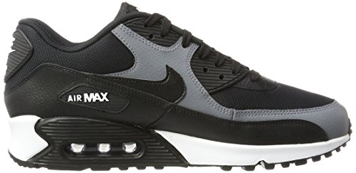 Air Max cool NIKE Basses Black 90 Grey Femme black Sneakers Black Noir dTqz1qn5W