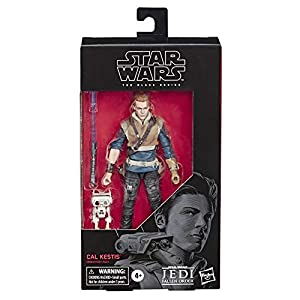 Star Wars The Black Series Cal Kestis Toy 6″ Scale Jedi: Fallen Order Collectible Action Figure, Toys for Kids Ages 4 & Up