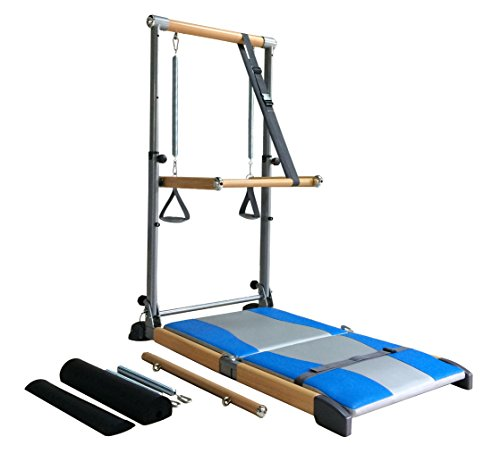 Beverly Hills Fitness Supreme Pilates Pro SPP089 with Ballet Barre Toning Tower, Yoga Pad, and Dvd's by Beverly Hills Fitness