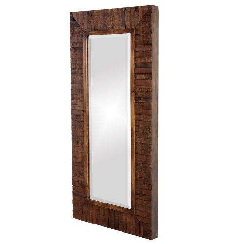 Howard Elliot 14234 Timberlane Rustic Mirror, Walnut