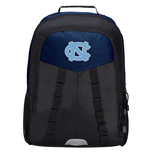 Officially Licensed NCAA North Carolina Tar Heels Scorcher Sports Backpack, Blue