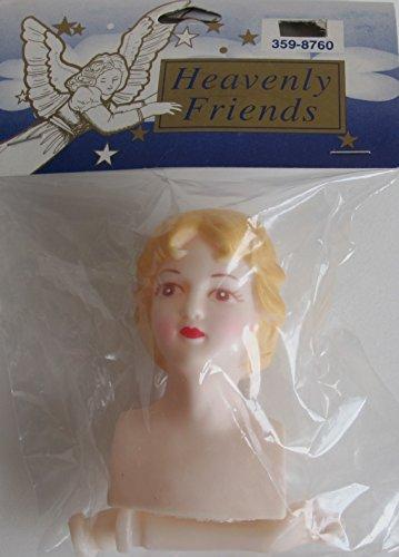 - Craft PACK of 1 SET of HEAVENLY FRIENDS Vinyl DOLL HEAD & HANDS Set w HEAD 2-1/2