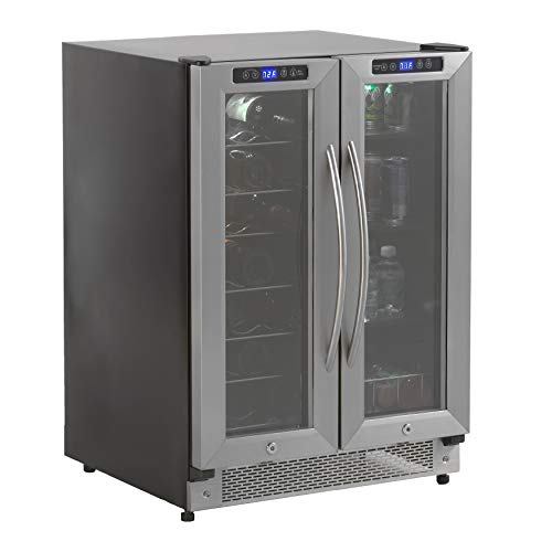 Avanti WBV19DZ Side by Side Dual Zone Wine/Beverage Cooler