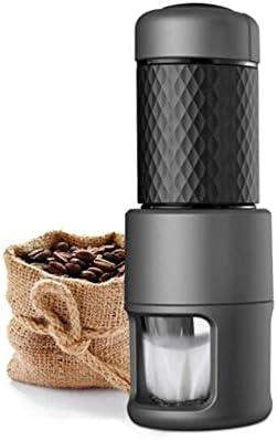 PLTJ-Pbs Italiano Mini Manual cápsula cafetera cafetera Olla casera método portátil presión Olla Taza de Espuma de Leche Multifuncional: Amazon.es: Hogar