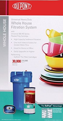 DuPont WFHD13001B Universal Heavy Duty Whole House Water Filtration System