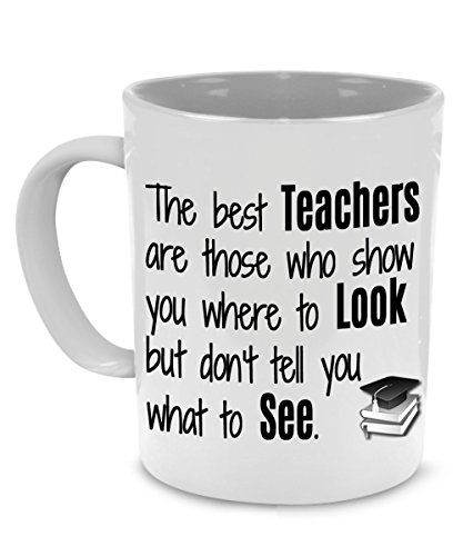 Cute Funny Thank You Teacher Gifts Mug - Printed on Both Sides!