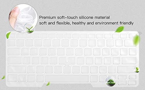 Dell Latitude - Funda para teclado Dell Latitude E7450 E7470 E5470 E7480 E5450 E5491 5480 5490 7490, Dell 3340 E3340 - Protector de teclado para ordenador portátil, transparente (diseño de EE. UU., con apuntador) 6