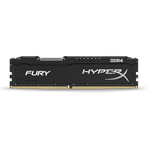 Kingston Technology HyperX Fury 16GB (1 x 16GB) DDR4 2133 MHz Desktop Memory DIMM (288-Pin) RAM HX421C14FB/16 (Kingston Ram Predator)