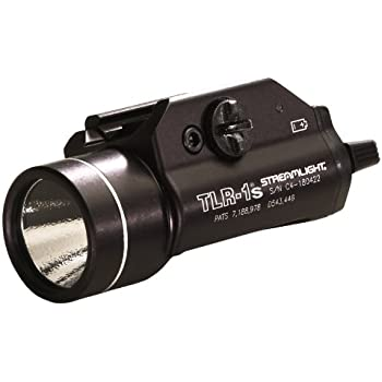 Streamlight 69210 TLR-1s LED Rail Mounted Flashlight with Strobe Function and Rail Locating Keys