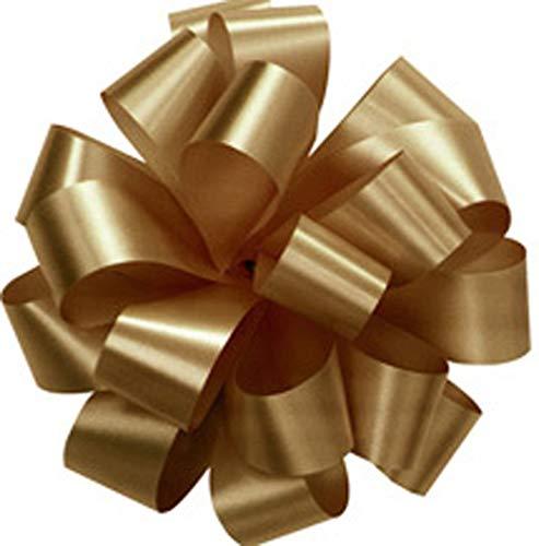 Set of 20 GOLD Pom Pom, Pull Bows, 5