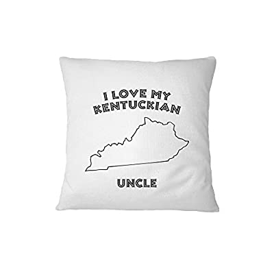 I Love My Kentuckian Uncle Kentucky Sofa Bed Home Decor Pillow Cover