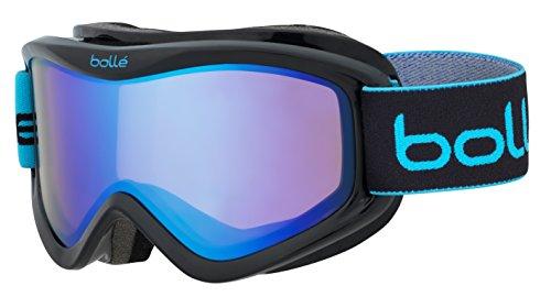 Bolle V Plus Aurora Googles, Black Blocks, One - Goggles Bolle Ski Kids