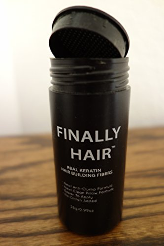 Finally Hair Keratin Hair Building Fibers 50 Gram 50g