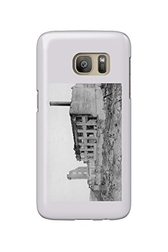 Astoria  Oregon Fire View Of Astoria Natl  Bank Photograph  Galaxy S7 Cell Phone Case  Slim Barely There