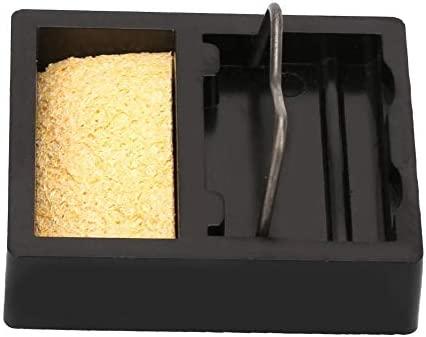 Zerone Mini tenedor el/éctrico del soporte del soldador con la esponja 600 ℃ de alta temperatura resistente
