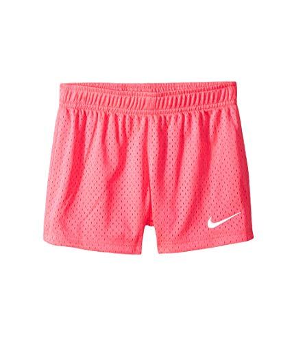 Nike Kids Girl's Classic Mesh Shorts (Little Kids) Hyper Pink 6