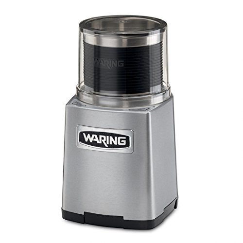 Waring Commercial WSG60 Electric Spice Grinder, 0.9 cu. ft, Steel by Waring