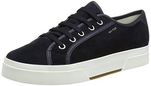 Geox D Hidence a, Zapatillas para Mujer Azul (DK NAVY/NAVYC4174)