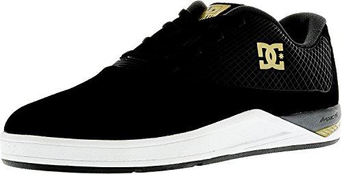 DC Junge Männer N2 S Lowtop Schuhe, EUR: 45.5, Black/Gold