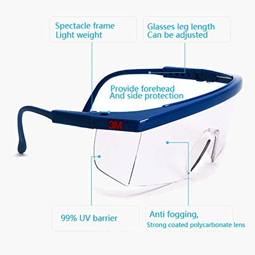 Nrpfell Protective Glasses Protective Work Glasses Dust Proof And Windproof Goggles