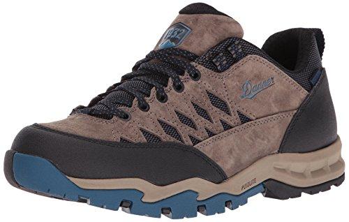 Danner Mens TrailTrek Light 3 Gray/Blue Hiking Shoe