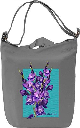 Gladiolus Borsa Giornaliera Canvas Canvas Day Bag| 100% Premium Cotton Canvas| DTG Printing|