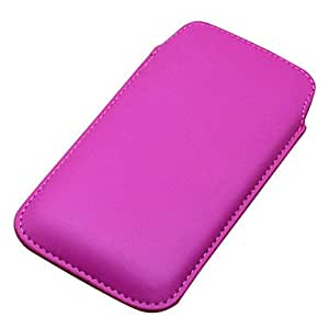 PU Leather Sleeve Bag Pull Tab Pouch Case Cover For Samsung Galaxy Note II 2 N7100 & Galaxy Note i9220 , Purple