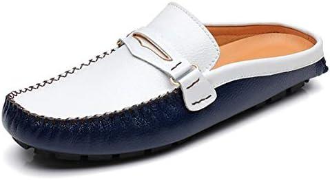 ビジネス サンダル メンズ スリッポン かかとなし スムース調 ローファー ビジネスシューズ 大きいサイズ 幅広 蒸れない 通気性 オフィス 社内履き お出かけ スリッパ 滑り止め 疲れにくい 紳士靴 フラットヒール